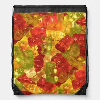 Gummy Bear Candy Drawstring Backpack