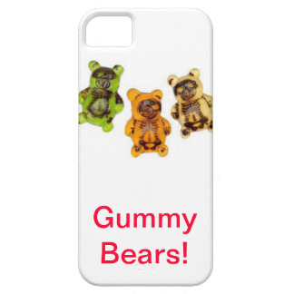 Gummy bear cell phone case iPhone 5 covers