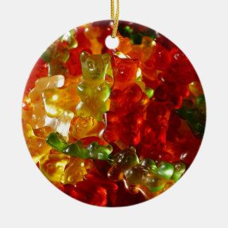 Gummy Bear Ceramic Ornament
