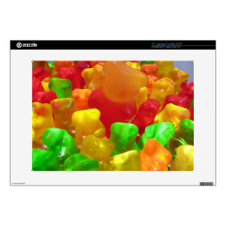 "Gummy Bear Crowd Decals For 15"" Laptops"