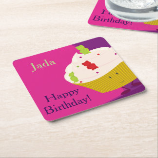 Gummy Bear Cupcake | Coaster