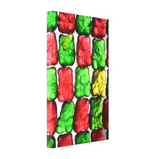 Gummy Bear Gallery Wrap Canvas