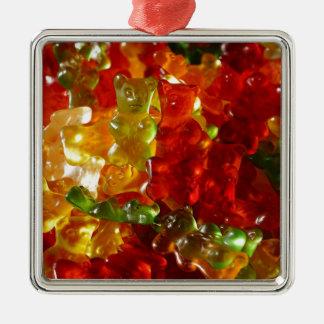 Gummy Bear Metal Ornament