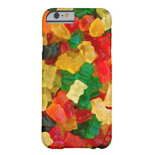 Gummy Bear Rainbow Colored Candy iPhone 6 Case