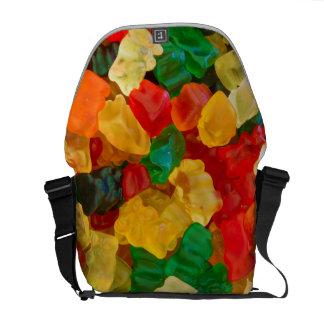 Gummy Bear Rainbow Colored Candy Courier Bag