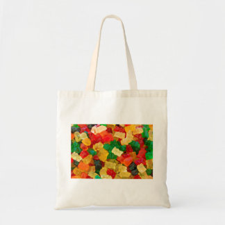 Gummy Bear Rainbow Colored Candy Tote Bag