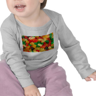Gummy Bear Rainbow Colored Candy Tee Shirts