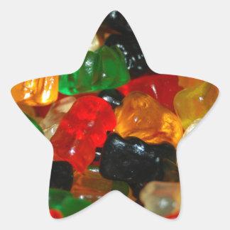 Gummy Bear Star Sticker