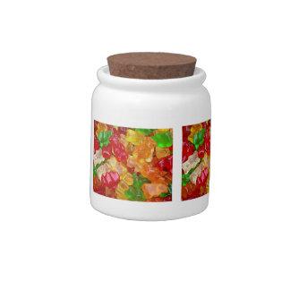 """""""Gummy Bear Themed"""" Candy Jar"""
