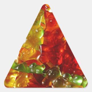 Gummy Bear Triangle Sticker