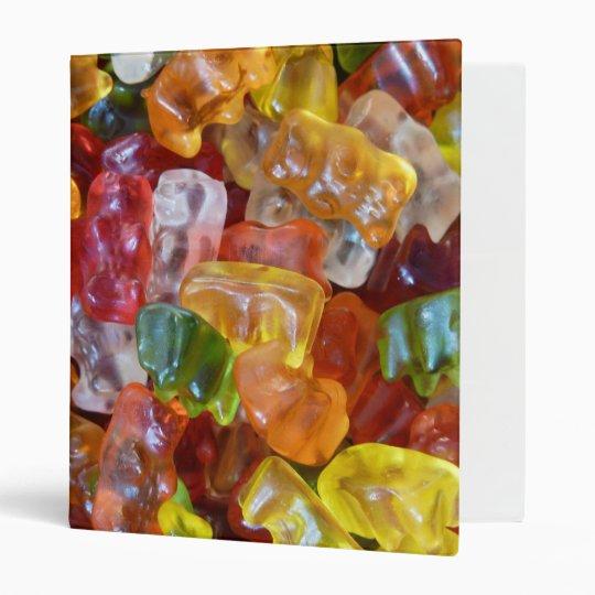 Gummy Bears Background Binder
