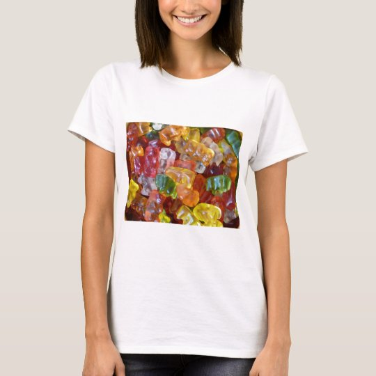 Gummy Bears Background T-Shirt