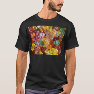 Gummy Bears Background T-Shirt