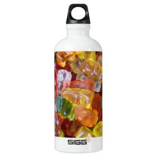 Gummy Bears Background Water Bottle