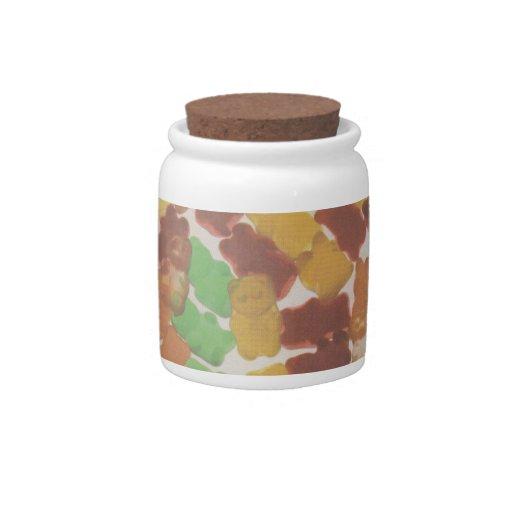 Gummy Bears Candy Jars