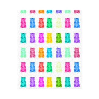 Gummy Bears Canvas
