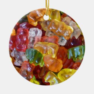 Gummy Bears Ceramic Ornament