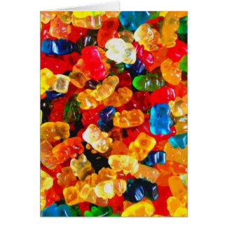 Gummy Bears Glore .jpg Greeting Card