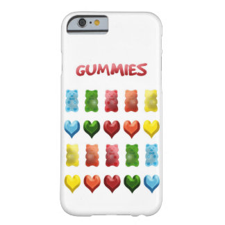 Gummy Bears, Jelly Hearts Barely There iPhone 6 Case