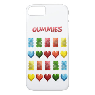Gummy Bears, Jelly Hearts iPhone 8/7 Case