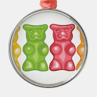 Gummy Bears Metal Ornament