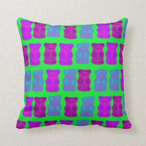 Gummy Bears Pillow