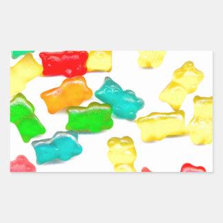 Gummy Bears Rectangular Sticker