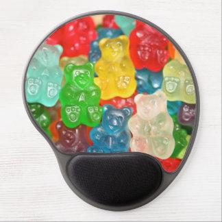 Gummy bears sweet treats pattern fun kids adults gel mouse mat