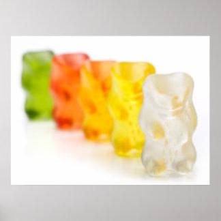 Gummy-bears zazz poster