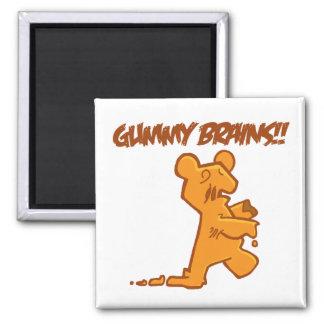 Gummy Brains Fridge Magnet