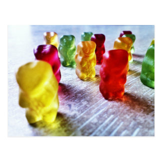 Gummy Candy Post Card
