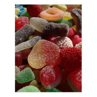 Gummy Candy Postcards