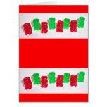 Gummy Christmas Card