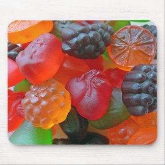 Gummy Fruit Mouse Pad