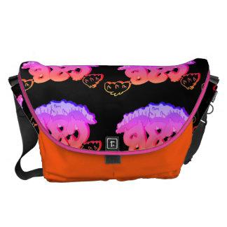 Gummy Grime Large Messenger Bag