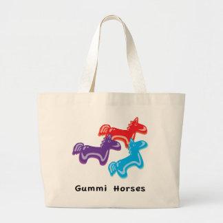 Gummy Horses Jumbo Tote Bag