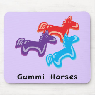Gummy Horses Mouse Pad