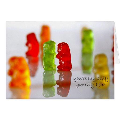 Gummy Love Greeting Card