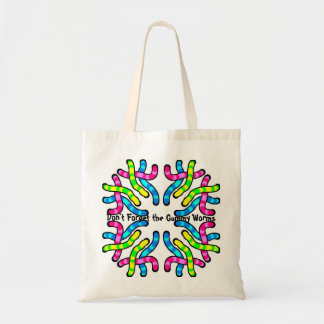 Gummy Worms Budget Tote