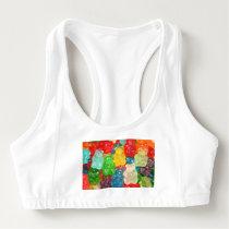 gummybears,candy,colorful,fun,kids,kid,children,pa sports bra