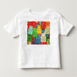 gummybears,candy,colorful,fun,kids,kid,children,pa toddler t-shirt