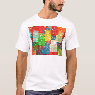 gummybears,candy,colorful,fun,kids,kid,children, T-Shirt
