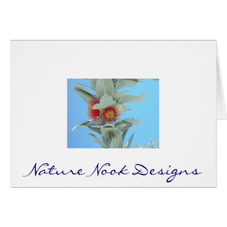 Gumnut Flowers Stationery Note Card