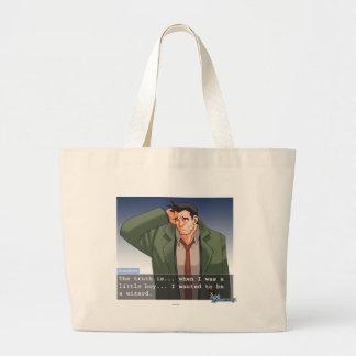 """Gumshoe - """"Truth"""" Large Tote Bag"""