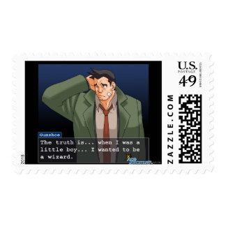 """Gumshoe - """"Truth"""" Postage Stamp"""