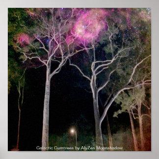 Gumtrees galáctico póster