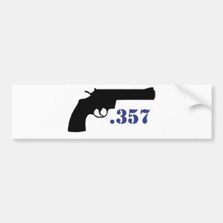 **GUN .357** CAR BUMPER STICKER