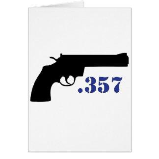 **GUN .357** CARD