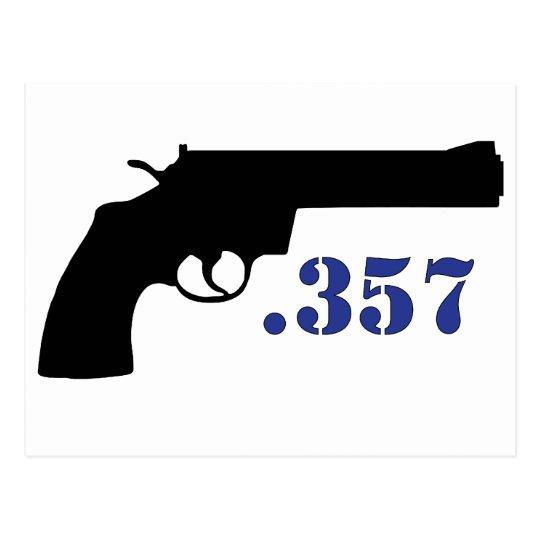 **GUN .357** POSTCARD