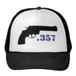 **GUN .357** TRUCKER HATS
